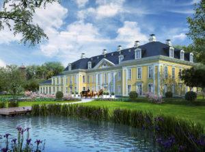 Pałac i Dom Oficjalistów odbudowa, Gładysze / Schlodien